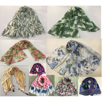 100% Polyester Printed Woven Light Scarves/ Shawls