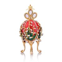 Faberge Egg Jewelry Box