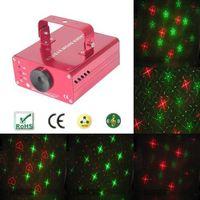 160mW RG heart pattern laser stage light