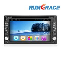 6.2 inch double din universal touch screen car dvd for nissan with gps, wifi, mirror link and ATV