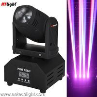 10W RGBW full color 4 in 1 LED moving head light ATM10M thumbnail image