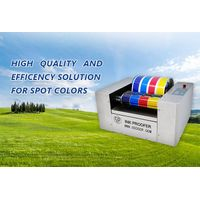 Automatic offset ink color testing machine FOUR-COLOR