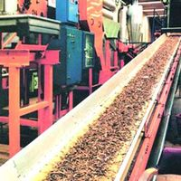 CHEMICAL-RESISTANT EP CONVEYOR BELT