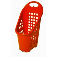 Mobile Plastic Cart for supermarkets