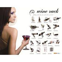 DIY wine rack,wine cellar, wine bottle and glass holder thumbnail image