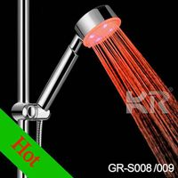 new design shower head with led light for kids
