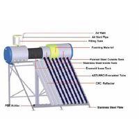Pressurized solar water heater, compact  type(calentador solar de agua, presurizado, tipo de compact thumbnail image