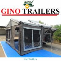 4x4 4wd camper trailer tent / 5+ person durable canvasv trailer / camping equipment