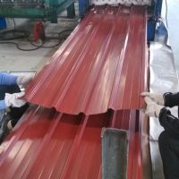 Red 0.17mm Color Coated Box Profiled Steel Iron Roofing Sheets thumbnail image