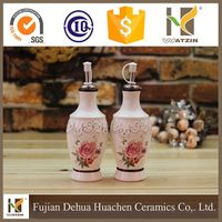 2017 dolomite custom printed dinner oil bottle dispenser, vinegar bottle