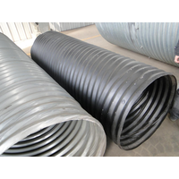 Hel-Cor Galvanized Corrugated Steel Pipe Supply Corrugated Steel Pipe in China