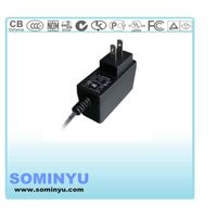 UL FCC CE approved 24V0.6A power adapter