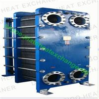 Price of sea water titanium plate heat exchanger BR0.6type