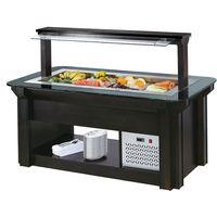 restaurant supplies buffet food salad bar refrigerator