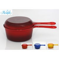 Enamel cast iron Multifunction pot pan set