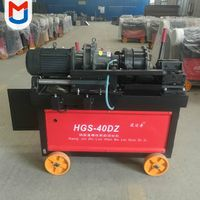 HGS-40DZ Rebar Threading Rod Roller Straight Parallel Bar Thread Rolling Machine