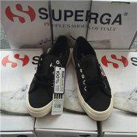 2015 Wholesale 2750 Women Superga Sneaker Canvas Shoes Black