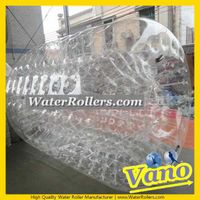 WaterRollers ZorbRamp Water Roller Ball Inflatable Wheel Water Walker Bubble Zorb Rolling Ball thumbnail image