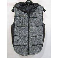 Cotton-Padded Vest Coat Womens Fashion Winter Coats Jersey Jacket