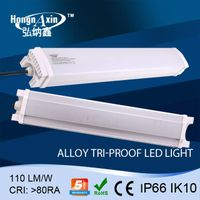 IP66 led Tri-proof lamp with Aluminum housing and PC cover 1500mm 80W,100W