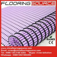 PVC Tube Matting for Wet Areas Non slip Drain Water