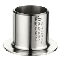 MSS SP-43 A403 stainless seamless B16.9 pipe fitting of stub end