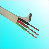 PVC -copper building 3 cores electric flat cable wire