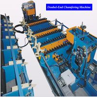 China Best Automatic Double Head End Bar Chamfering Machine