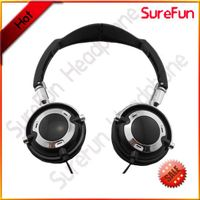Folding stereo headphones custom logo headphone price