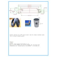 septic tank seals, tank sealing,press seal gasket, wall seal, pipe seals