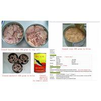 Canned tuna, canned mackerel of Chinese origin
