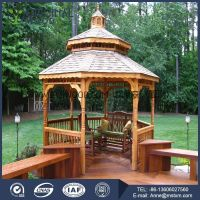 Lake pavilion with excellent quality