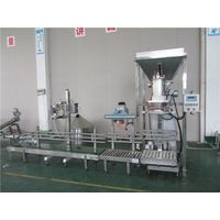 Toner powder weight packing top open bag packing machine
