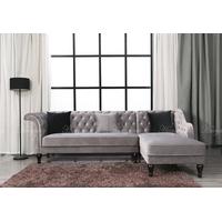 Modern Velvet Chesterfield Tufted Sofa, Chesterfield Cheap Sleeper Sofa Bed thumbnail image