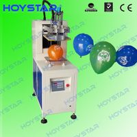 automatic single color balloon screen printing machine
