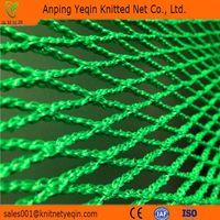 Plastice knotless tied net