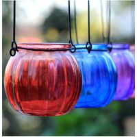Hanging Candle Holders Glass Candle Jars