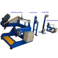 800-1250 spool winding machine large rewinding machine equipment cable network wire coiling machine