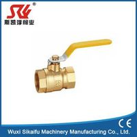 Female NPT 3 Way Brass Ball Valve