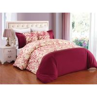 Bedding set printed duvet cover set with embroidery thumbnail image