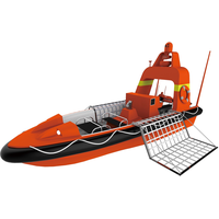 Mono-hull rescue unmanned surface vessel USV boat