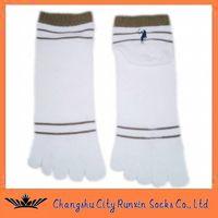 mens sports comfy five toe  five finger socks