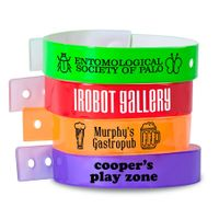 Vinyl Regular Wristbands  festival wristbands for sale thumbnail image