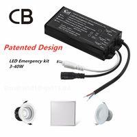 CB Certificated LED Emergency Kit 3-40W Panel Downlight Spot Light Emergnecy Battery