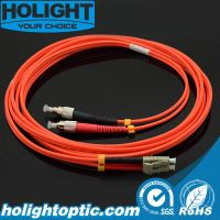 Fiber Optic Patch Cord FC to LC Duplex Om1/Om2 3.0mm Orange