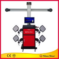 3D wheel alignment / bus wheel alignment