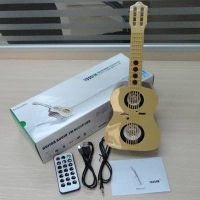 portable digital audio 3W Electronics Guitar mini Speaker power amplifer with FM and SD MMC slot thumbnail image