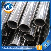 Decorative stainless steel round pipe tube 201/202