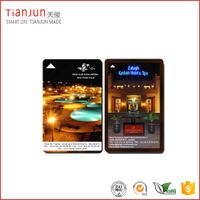 Transparent Business Card/Hotel Key Card for Access Control
