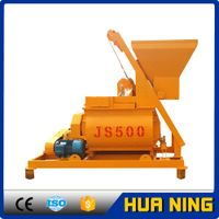 Low Consumption Accurate Pneumatic 500 liters Concrete Mixer for Sale thumbnail image